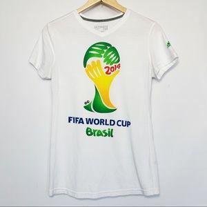 Adidas FIFA World Cup Brasil Brazil T-Shirt 2014